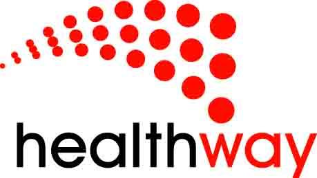 Healthway logo 485:Black