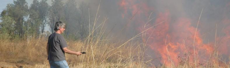 Philip recording Fire