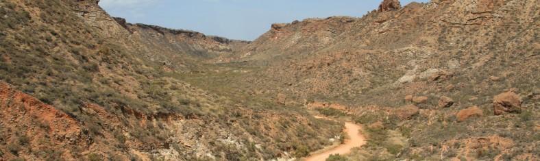 Road to Shothole Canyon Photo Tony Howard (DEC)