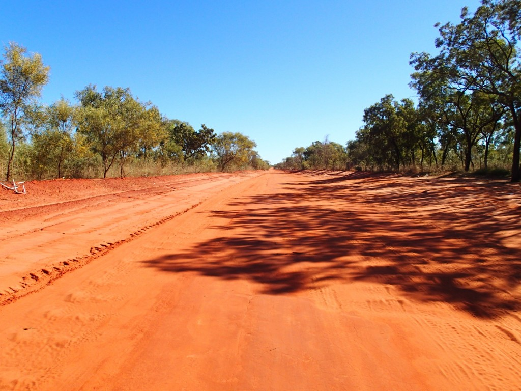 On the road to Dampier Peninsula