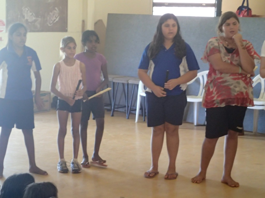 Recorder group, One Arm Point (G. Howell)